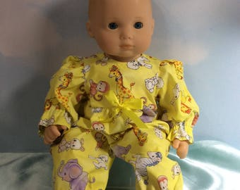 "15"" Bitty Baby yellow outfit"