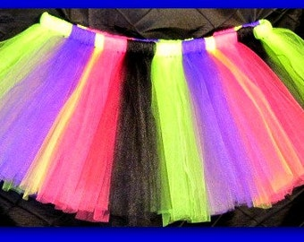 Tutu Skirt, Flower Girl, Photo Props, Marathon Skirts, 80s tutu, Lined and Unlined Options,All Sizes, Custom Orders Welcome