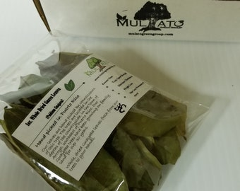 1oz. Whole Dried Guava Leaves - Hand Picked from Puerto Rico