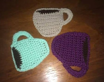 Crochet Coffee cup coasters