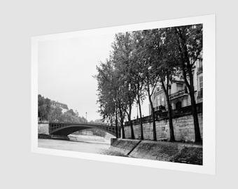 Parisian Bridge France Archival Quality Art Print, 1:50 Limited Edition / wall art / home decor / modern / classic / vintage /. Seine .