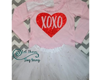 Valentines Day shirt First Valentines day Daddys little princess Daddys little girl Valentine day shirt girls
