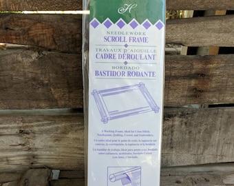 "Needlework Scroll Frame 6""X12"""