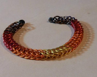 Fall Chainmaille Bracelet