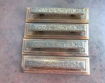 Vintage Drawer Handles - Metal Handles and Plates - Furniture Hardware - Reno Project