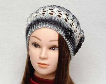 Boho style hat Sun hat Spring hat Womens Hats Slouch Hat Crochet Slouchy Beanie Crochet Beanie Summer Accessories Girlfriend Gift|for|her