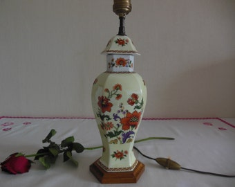 Old lamp ceramic - early 20th century - Rare
