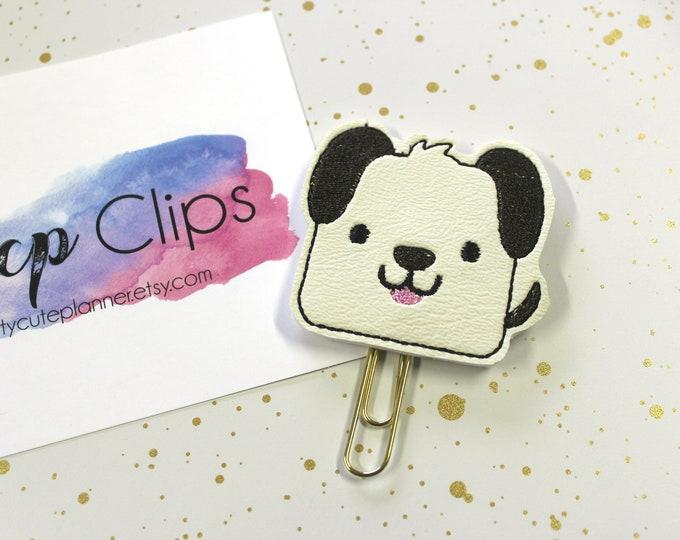 Planner Clip - Planner Bookmark - Dog Planner Planner clip - Cute Dog planner clip- Felt Planner Clip - Felt Bookmark - Feltie clip