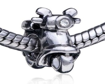 Pugster motorcycle Charm Fit All Brands Bracelets even Pandora