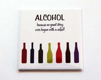 Funny Magnet, Drinking Magnet, Fridge magnet, magnet, Kitchen Magnet, Humor, Likes to Drink, alcohol magnet (5483)