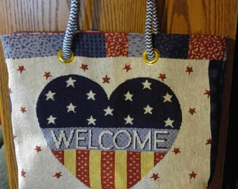 USA welcome bag