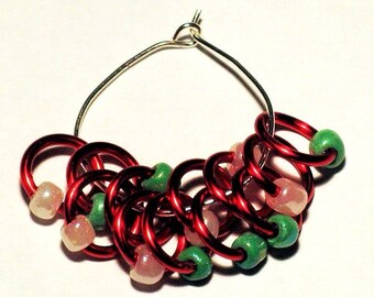 Christmas Elf Snagless Stitch Markers