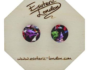 Colour pop studs - confetti