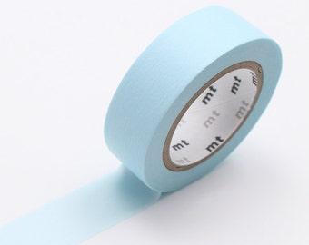 Powder Blue Washi Tape • MT Masking Tape Pastel Washi Tape • Washi Tape UK • Japanese stationery • Pastel Powder Blue