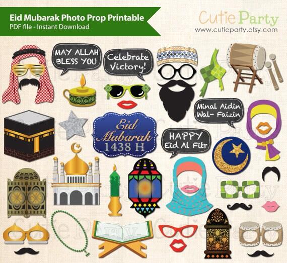Amazing Islamic Party Eid Al-Fitr Decorations - il_570xN  Photograph_677810 .jpg?version\u003d1