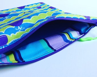 wet bag, bathing suit bag, eco friendly, baby shower gift, soiled diaper bag