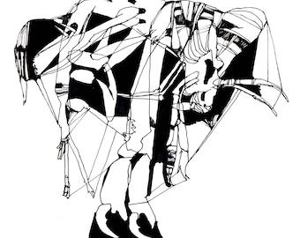 Stilted Tick (Print)