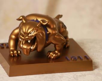 Omega Psi Phi Dog -  Omega Psi Phi, Fraternity Gift, Que Dawg, Dog, RQQ, 1911, Probate Gift, Neophyte Gift,