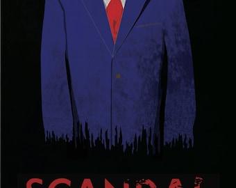 Scandal Minimalist Poster