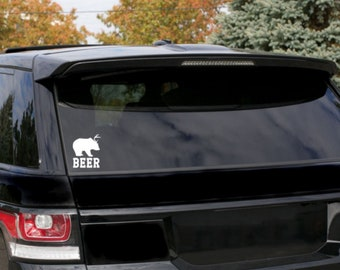 BEER Bumper Sticker