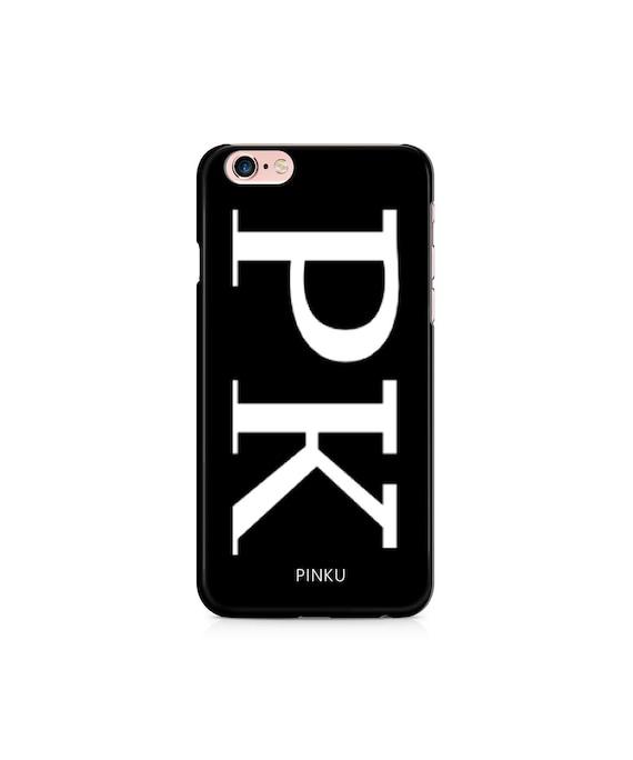 iphone 7 plus case personalised initials