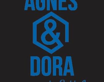 Agnes & Dora Custom Decal