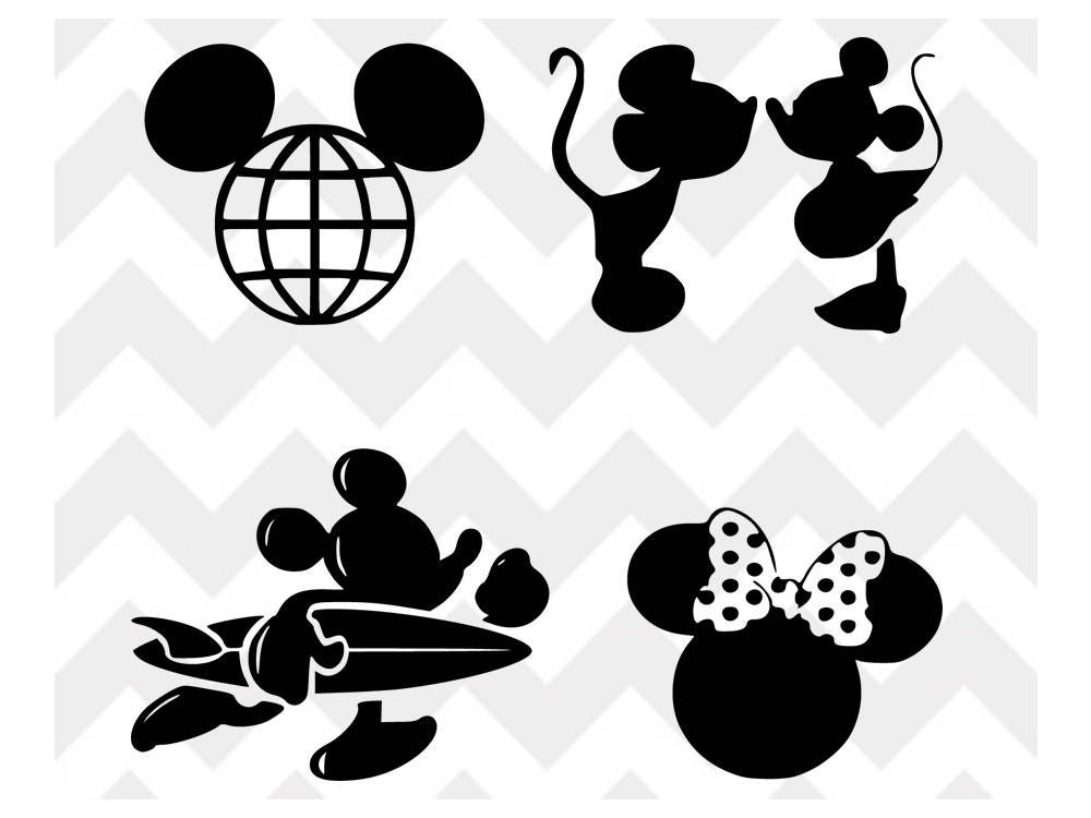 Mickey Mouse Svg Mickey Mouse Disney Svg Minnie Svg
