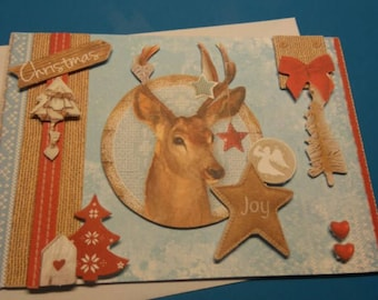 HAND made 928 3D greeting card