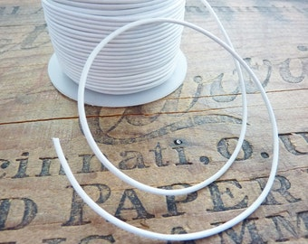 Leather 1.5mm Leather Cord Quality White