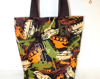 SALE --- Army Tanks /Gift Bag/Tote/Party Favor