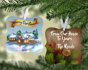 Personalized, Christmas Ornaments, Personalized Gift, Custom Ornaments, Personalized Gifts, Holiday Ornaments, Ornaments