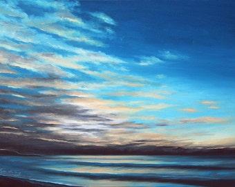 GICLEE Fine Art Reproductions on 8.5x11 PAPER - First Light by Daina Scarola (Dawn, Eastern Shore, Nova Scotia)