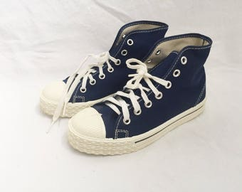 little kids converse imitation high top sneaker boys size 13 deadstock NIB 70s made in USA