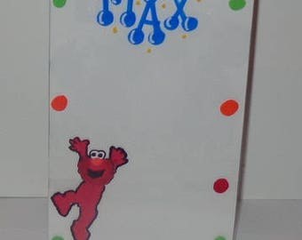 Personalized Frame/Picture Frame/Elmo Party Favors