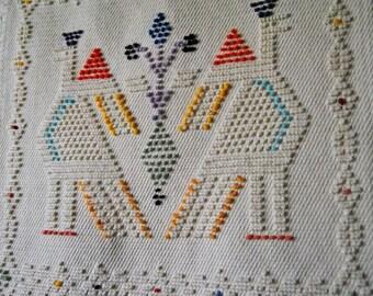 Pure handmade cotton Tapestry cm 100 x 38 CM145 x 120