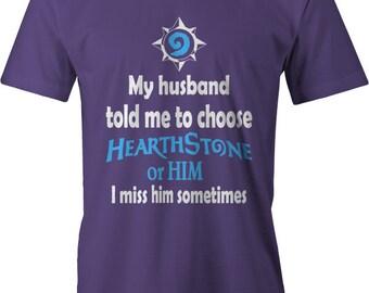 Hearthstone Or Husband Tee