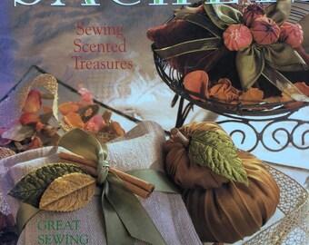 SENSATIONAL SACHETS Book, Lavender Sachets, Linen Sachets, Sachet Patterns, Silk Sachets, Lace Sachets, Felt Sachets,