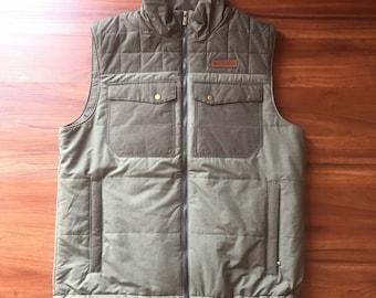 Columbia Multi Green Puffy Vest
