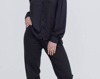Black Bamboo Shirt