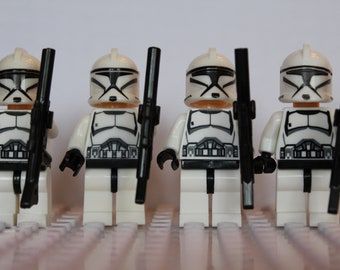 Fantasy Star Wars Clone Storm Infantry Trooper Mini Figures Fit Lego The Last Jedi