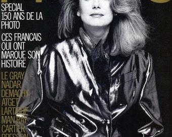 Photo Magazine 1989 Catherine Deneuve Anna Karina Bettina Rheims Sarah Bernhardt  Demachy  High Quality Content throughout !   mature
