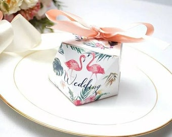 Wedding favor boxes Etsy
