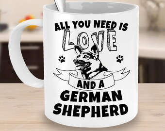 One Of The Best German Shepherd Coffee Mugs