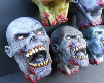 Zombie Head Magnets Version 2