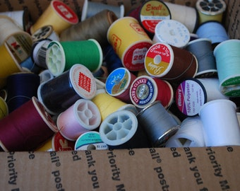 150 Spools of Sewing Thread assorted Colors