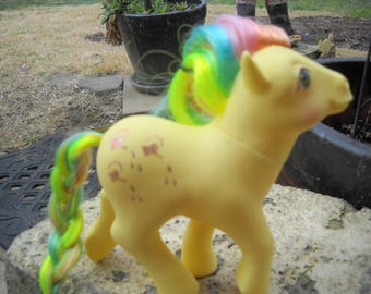 "Vintage Hasbro G1 MLP  1984 My Little Pony  --Original ""TRICKLES""Sweet Rainbow Pony Water Can"