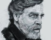 Mark Hamill Art Print...