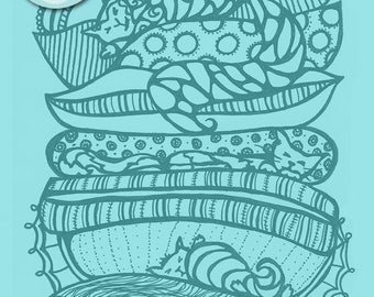 Digital Download, adult coloring book pages, PDF files, adult coloring pages, adult colorbook