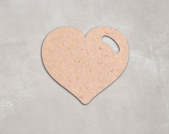 "Wooden heart Cutout Shape, Unfinished,craft supplies,figure,decoration, 2"" 34"" Home Decor,Wall Hanging,DIY, do it yourself, MDF shape"