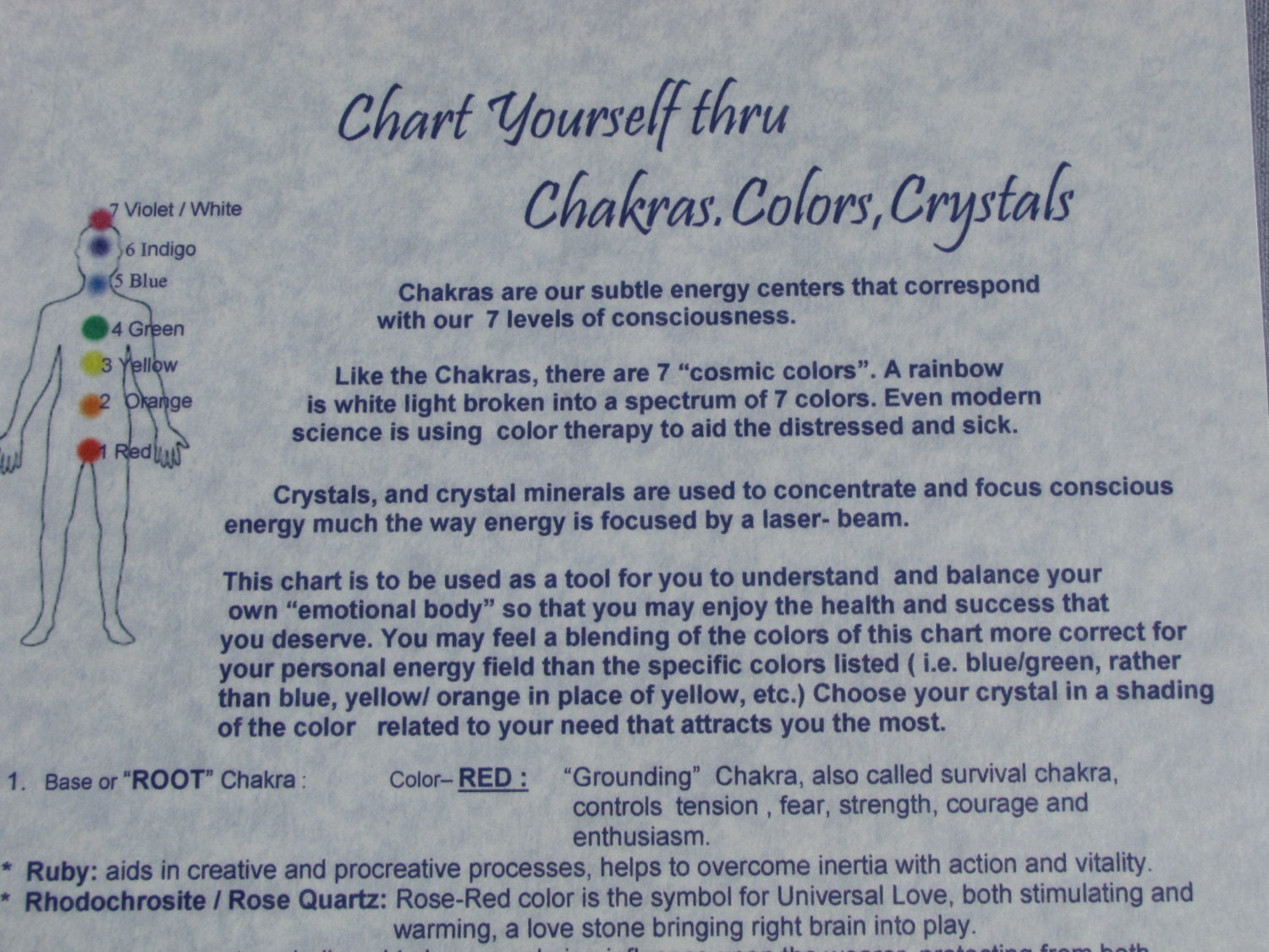 Chakras colors crystals self help pdf chart downloadable zoom geenschuldenfo Images